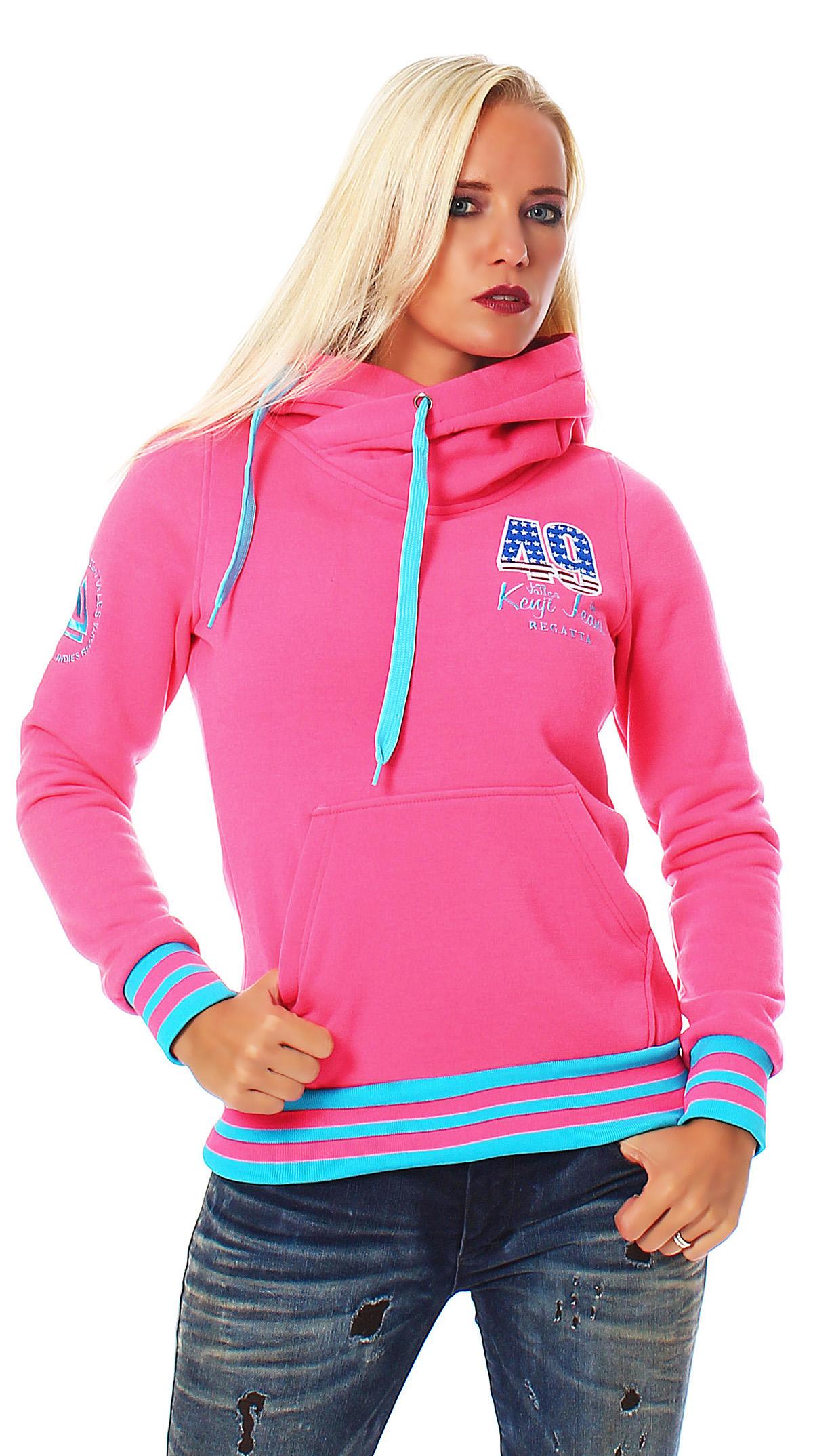 ladies sweatshirt pullover hoodie jacket warm lining top. Black Bedroom Furniture Sets. Home Design Ideas