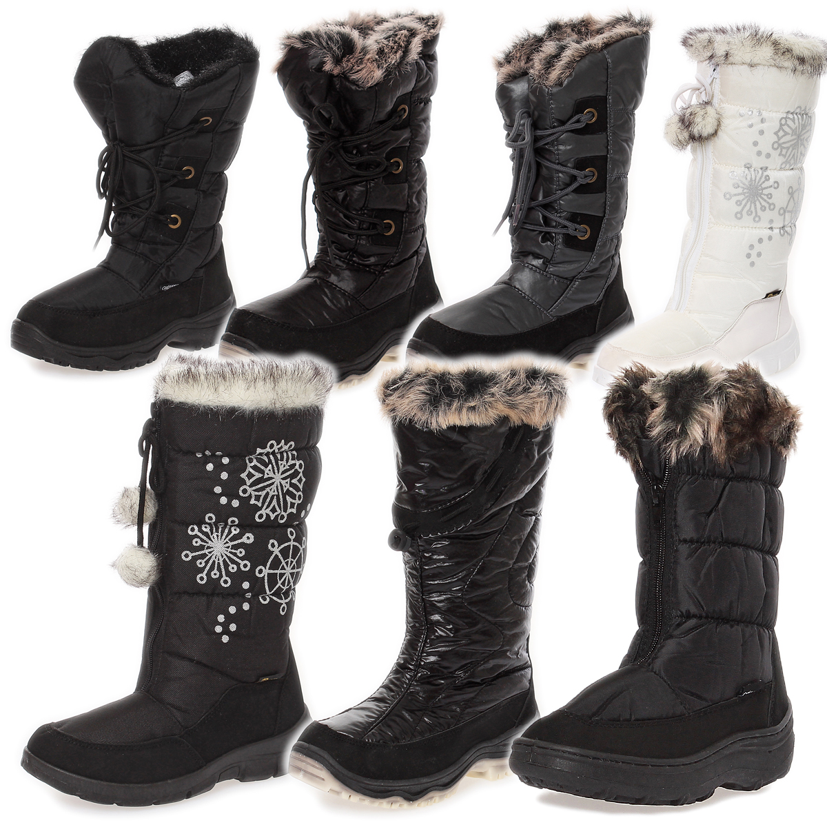 donna stivali invernali stivali termici stivali da neve. Black Bedroom Furniture Sets. Home Design Ideas