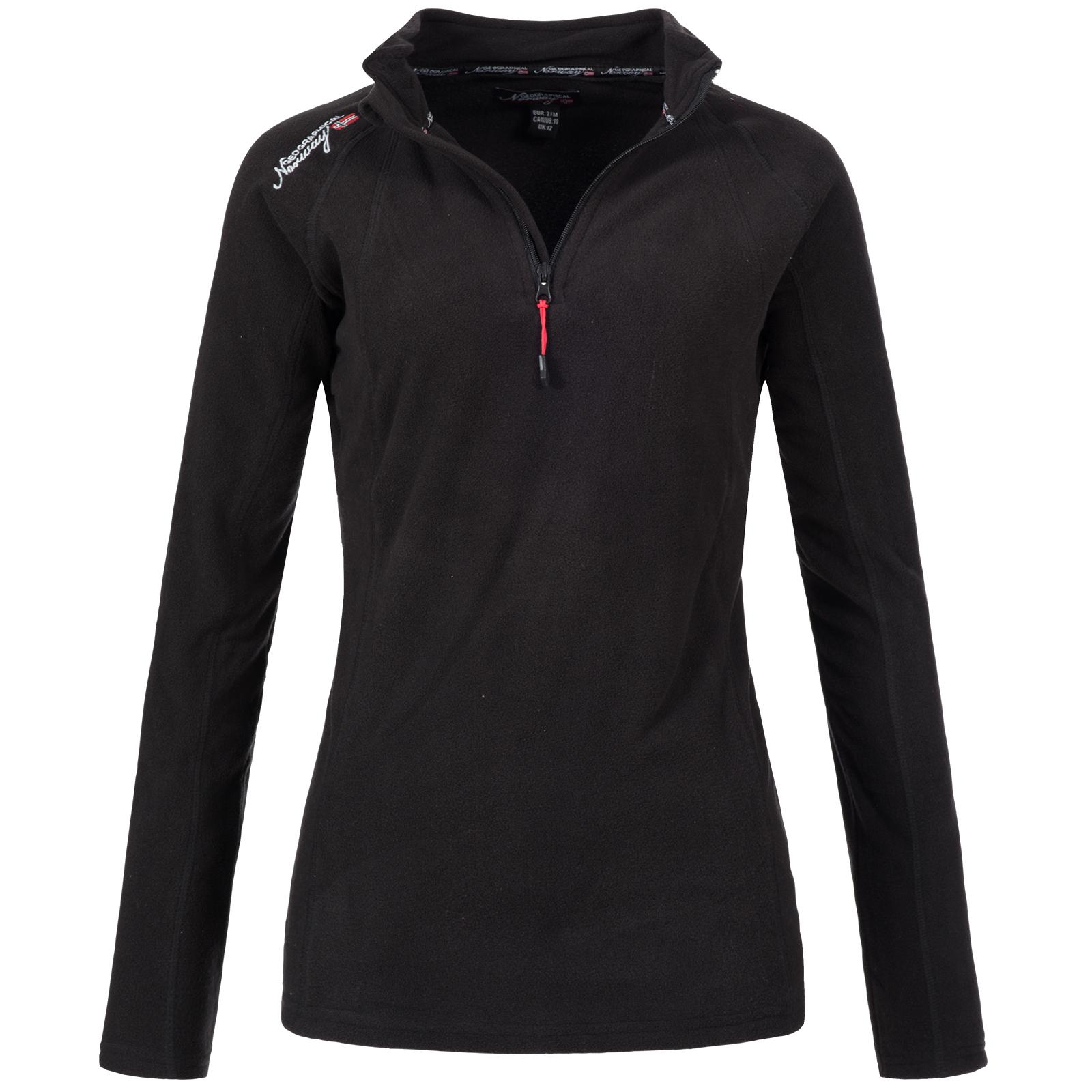 Geographical Norway Damen Fleece Pullover Sweatshirt  CL 02030 Gr. S M L XL XXL