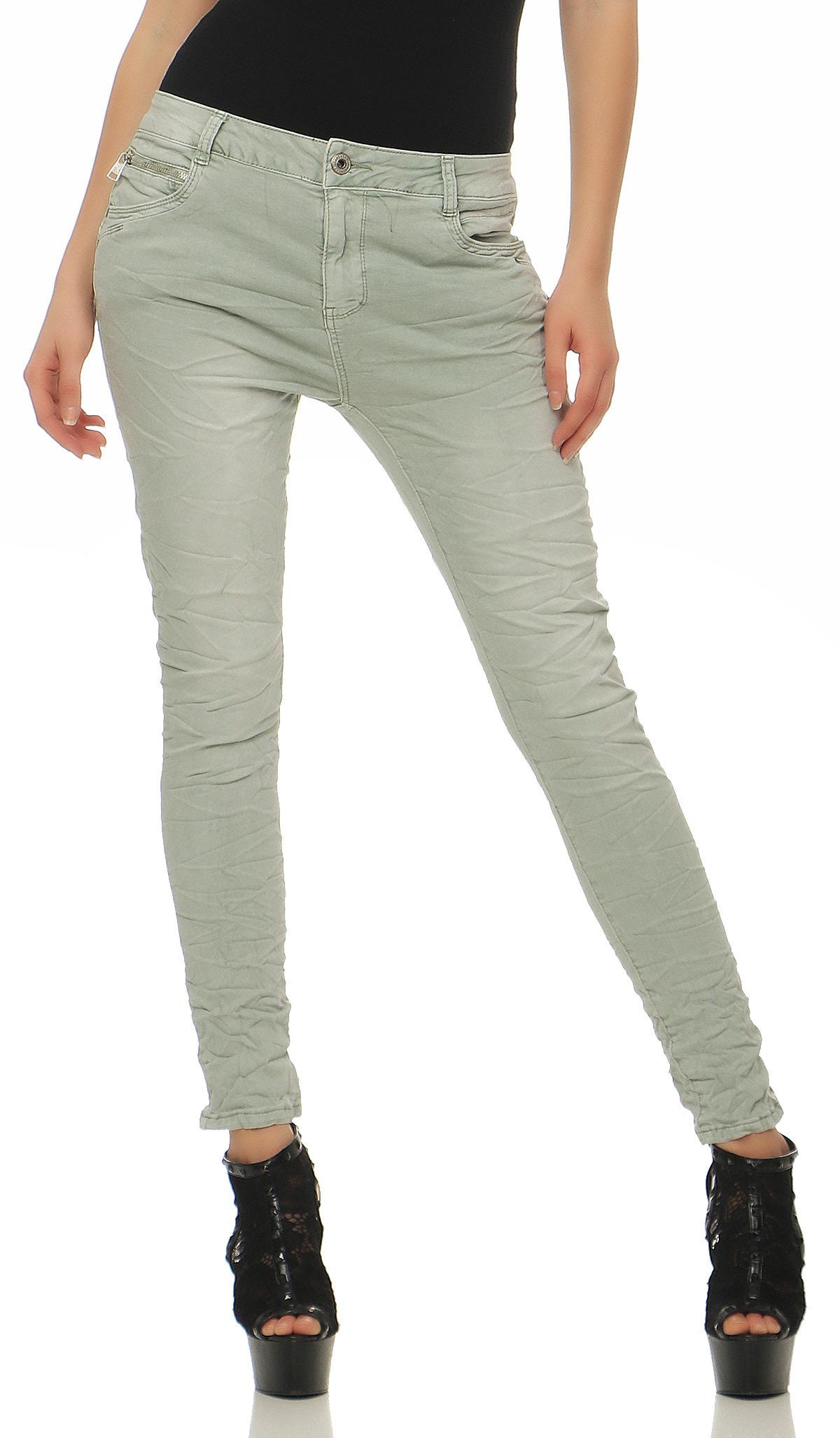 lexxury damen jeans h fthose baggy pants chino lange hose. Black Bedroom Furniture Sets. Home Design Ideas