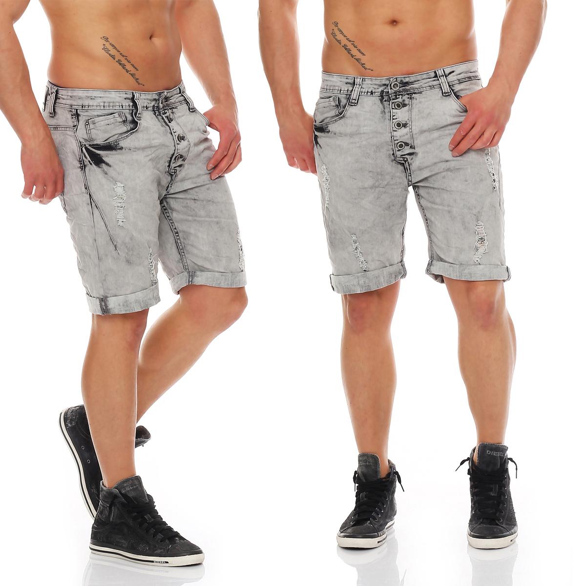 Herren Bermuda kurze Chino Shorts kurze Hose Cargo Pants Jeans ... 05e78ef265