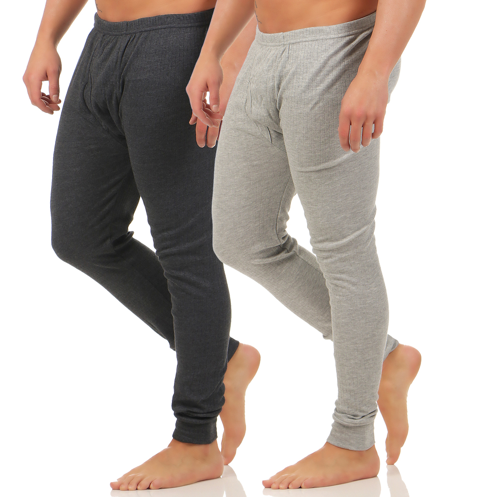 2er pack herren thermo leggings unterhose hose unterw sche m nner leggingscl4037 ebay. Black Bedroom Furniture Sets. Home Design Ideas